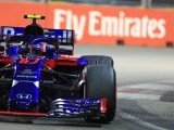 Balance and Grip Issues Leave Gasly and Toro Rosso Struggling in Singapore