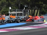 French Grand Prix: Hamilton wins, Vettel collides with Bottas