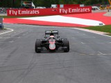 Button woeful weekend over in just two laps