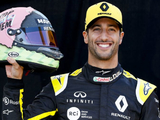 What does Ricciardo's 'Stop Being Them' helmet message mean?