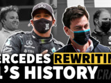 How Mercedes is re-writing F1 history with magnificent seven