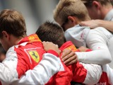 Ferrari dedicates Hungary win fallen future star