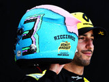 "Ricciardo reveals ""funky"" new helmet design"