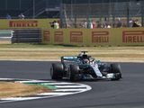 Hamilton Fastest In First Practice At Sunny Silverstone