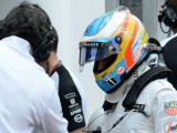 Fernando Alonso laments 'too fragile' McLaren after Q2 issue