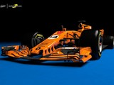 What a papaya orange 2018 McLaren-Renault F1 car could look like