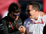We've got to give Alonso a winning car Zak Brown