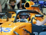 Carlos Sainz Jr has 'a lot to analyse' after McLaren F1 test debut