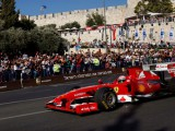 F1 races through the Holy City