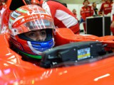 Fuoco 'angry' with F1 test debut mistake