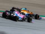 Sainz: Racing Point 'in another league' to McLaren