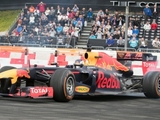Red Bull carries out Glasgow demo runs