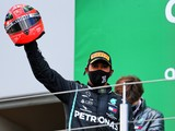 Hamilton: Matching Schumacher 'an incredible honour'
