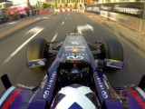 Coulthard drives Red Bull car in Assen