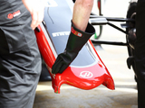Wing failure interrupts Haas's test