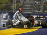 Raikkonen didn't see Kyvat until it was 'too late'