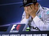 Relieved Rosberg savours title