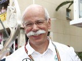 Zetsche happy with driver feud at Mercedes