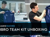 Video: Russell and Latifi unveil Williams' new Umbro team kit
