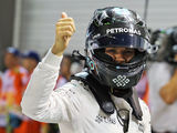 Rosberg eases to pole, Ricciardo to start alongside