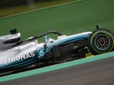 Belgian GP: Hamilton beats F1 title rival Vettel to pole in wet Q3