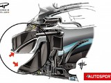 How the Mercedes F1 team's 2020 sidepod design is set to evolve
