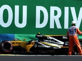 Palmer says car 'didn't feel right' in FP2