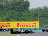 Force India drivers apologetic after incidents