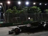 Upgraded brake discs for both Haas drivers in Malaysia
