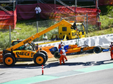 Norris points finger at Stroll after Spain collision