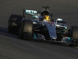 F1 testing 2017: Hamilton top first day for Mercedes