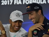 Brundle tips Ricciardo to replace Hamilton