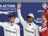 Hamilton delighted with 'aced' pole lap
