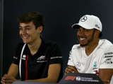 Hamilton is F1's hardest worker, says Russell