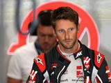 Grosjean 'didn't see anything' before crash
