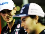 Force India stops Perez, Ocon from racing each other after clash