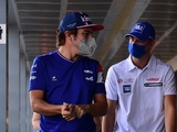 Alonso apologises to Mick for Turkey collision