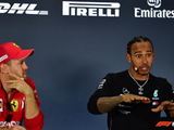 Hamilton is already a Ferrari driver, Vettel jokes