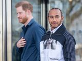 Hamilton and Prince Harry open Silverstone museum
