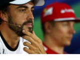 Alonso, Sainz, Merhi in press conference