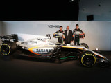 Force India unveils the VJM10