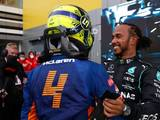 Norris: Consolation 'meant more' coming from Lewis