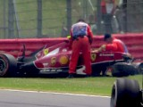 Raikkonen gets all clear for Germany after 47G crash