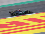 Hamilton experimented with different lines through Portugal race