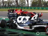 Tsunoda's gearbox broke in half in Imola Q1 crash