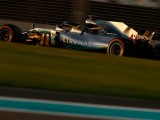 Hamilton leads Mercedes one-two with record Abu Dhabi lap