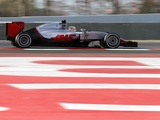 Haas on course after productive test