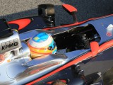Alonso uninjured but will remain in hospital overnight