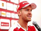 Sebastian Vettel denies he's overdriving due to Ferrari failings