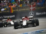 Alfa drivers lose German GP points to penalties, Kubica into 10th